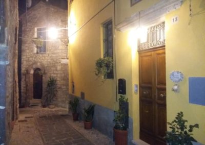 Via Colonna By night